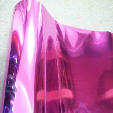 """Iron-on Heat Transfer Vinyl cutting film (FOIL14-Pink) for textile  [20"""" x 10ft]"""