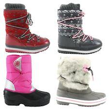 Kids Childrens Juniors Schreuders Snow boots~Winter ~UK 10 - 4.5