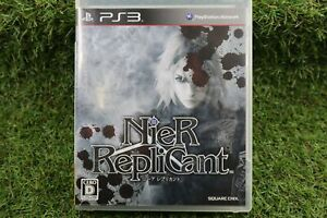 Good condition NieR Replicant PS3 SQUARE ENIX Play Station 3 From Japan