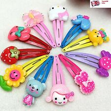 10 pcs Mix Styles Assorted Baby Kids Girls Hair Pin Hair Clips Jewelry UK Stock