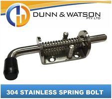 304 Stainless Steel Spring Bolt (Caravan, Camper Trailer, Boat, Marine, Shoot)