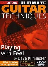 LickLibrary Guitar Techniques PLAYING WITH FEEL Video Lesson DVD Dave Kilminster
