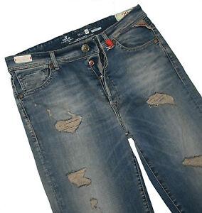 Replay WX696.000.539.346.010 Yvette Boy Fit Damen Stretch Denim Jeans Size 29