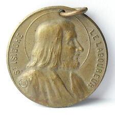 Médaille Saint Isidore le Laboureur San Isidro I c1920 A J Corbierre 22mm Medal