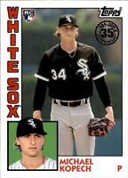 2019 Topps Series 2 1984 Topps Rookie Insert #84R-MK MICHAEL KOPECH White Sox