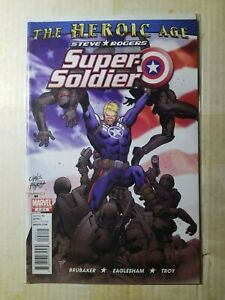 Steve Roger's Super Soldier 2 (9.8) NM/MT (2010)