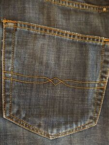 GUC men's LUCKY BRAND jeans / style 410 ATHLETIC FIT - size 36 x 34