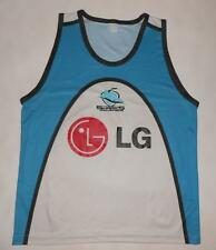 RUGBY SHIRT SLEEVELESS ISC CRONULLA SUTHERLAND SHARKS (S) Jersey Trikot Maillot
