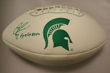 William Gholston Michigan State Spartans Ncaa Autographed Go Green K2 Football
