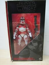 "STAR WARS 6"" BLACK SERIES ORDER 66 CLONE TROOPER CORUSCANT GUARD PHASE II SHOCK"
