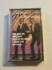 NEW SEALED SAM & DAVE SOUL STUDY CASSETTE TAPE 1989 CBS RECORDS BT-18257