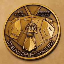 F-117 Stealth Nighthawk Air Force Challenge Coin