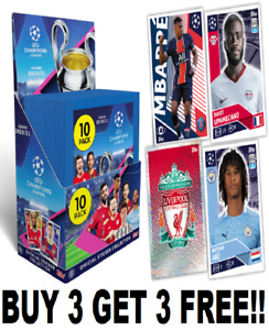 Topps Champions League 2020/21 Foils/Shiney's/Badges!! Buy 3 Get 3 Free!! 20/21