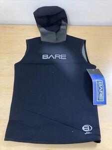 Bare 5/3mm Sport Hooded Vest Mens Item# 003156BLK-20M Black