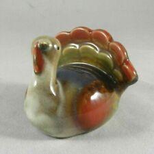 Miniature Glazed Ceramic Turkey