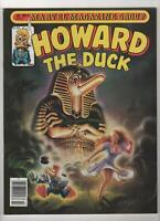 HOWARD THE DUCK no. 9 1977 Marvel Magazine NM 0758
