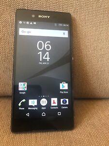 Sony Xperia Z3 Plus + E6553 32G Black (Unlocked) Smartphone