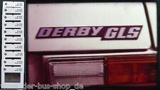 VW Derby GLS - Werbe-Präsentation - 10 Dias - Dezember 1978