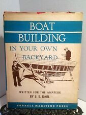 Boatbuilding in Your Own Backyard How to Build Wood Boat Framing Planking Plans