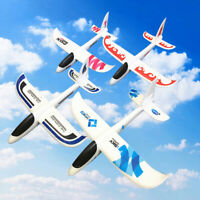 48cm DIY Hand Throw Flying Glider Planes Toys For Children Foam Aeroplane Mo TRF