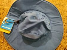 Columbia Titanium Omni-Shield Silver Ridge Booney Men's Hat Bright Blue OSFA