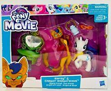 My Little Pony Movie Rarity & Capper DapperPaws Styling Friends Figure Set