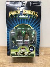 Bandai 1996 Vintage Power Rangers Micro Zeo Zord IV Playset SEALED- RARE!