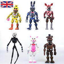 2017 New Aarrival 6Pcs FNAF Five Nights at Freddy's Action Figures Toy Kids Gift