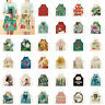 Xmas Flower Girl Plant Cactus Animal Kitchen Aprons Home Cleaning Decor Products
