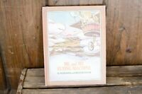 Vintage Book Me and my Flying Machine Antique kids book illustrated