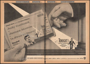 A STAR IS BORN__Original 1954 Trade AD__Pantages Premiere / poster__JUDY GARLAND