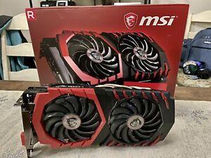 MSI AMD Radeon RX 580 (RX 580 GAMING X 4G) 4GB GDDR5 PCI Express 3.0 x16 Video
