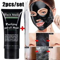 Charcoal Blackhead Remover Deep Cleansing Purifying Peel-off Black Mud Mask
