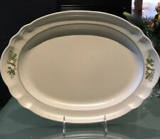 "Pfaltzgraff 14.5"" Christmas Heirloom Platter In Excellent Condition"