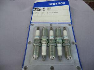 Original Volvo Zündkerzensatz S40-2, V50, C30, C70-2 5 Zylinder ohne Turbo