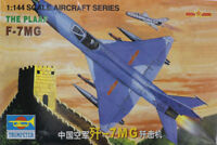 Trumpeter 1/144 China THE PLAAF F-7MG Air Fighter Plane Model Military No.01327