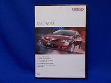 220) HONDA Civic Hybrid Presse Information Presse Mappe CD ROM