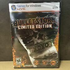 NEW, Bulletstorm Limited Edition PC DVD Games , Windows XP, Vista