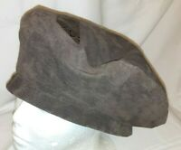 Vintage Leathers by Par Heaslip Suede Leather Hat (PB) ~ 100% Leather ~ Lined