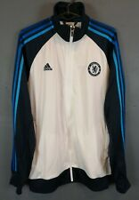 RARE MEN'S ADIDAS FC CHELSEA 2013/2014 JACKET TRAINING SOCCER FOOTBALL SIZE M