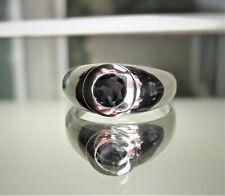 Men's London Blue Topaz Ring In 925 Sterling Silver-New Genuine Topaz Sze 10.75