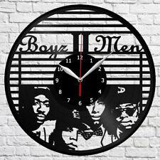"Boyz II Men Vinyl Record Wall Clock Home Fan Art Decor 12"" 30cm 4277"