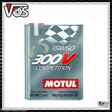 Olio Motul 300v competition 15w50  racing engine oil 100% Synthetic 4 litri 4LT