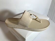 Calvin Klein Women's Mali Slide - on Sandals, Flip Flop 11 M US