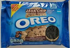 NEW Nabisco Oreo JAVA CHIP Flavor Creme Cookies FAMILY SIZE FREE WORLD SHIPPING