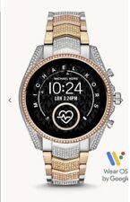 GEN 5 de acceso Michael Kors Bradshaw Pave 3-Tone Reloj inteligente (MKT5105)