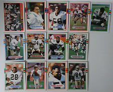 1989 Topps New Orleans Saints Team Set of 13 Football Cards