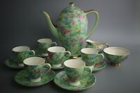 1940s Empire England Lilac Time Chintz Tea Set Empire Porcelain