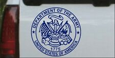 Department Of The Army Seal Car or Truck Window Laptop Decal Sticker