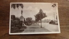 OLD AUSTRALIAN POSTCARD OF MELBOURNE VICTORIA, VIEW OF ST KILDA ROAD c1900